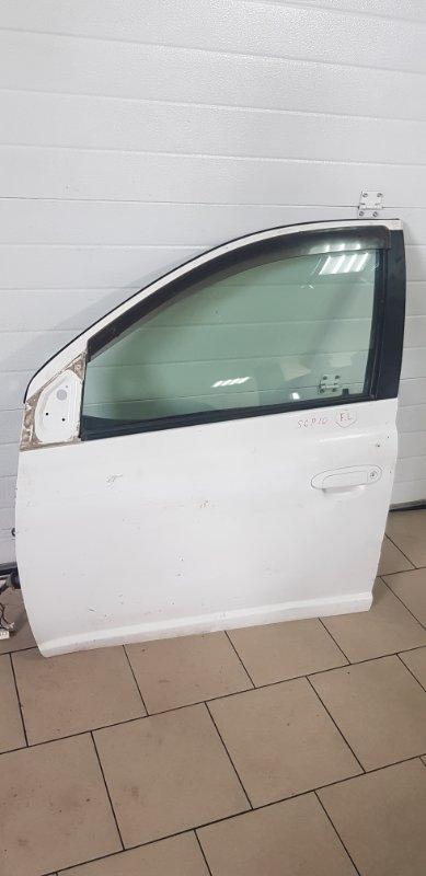 Дверь Toyota Vitz SCP10 1SZFE 2000 передняя левая