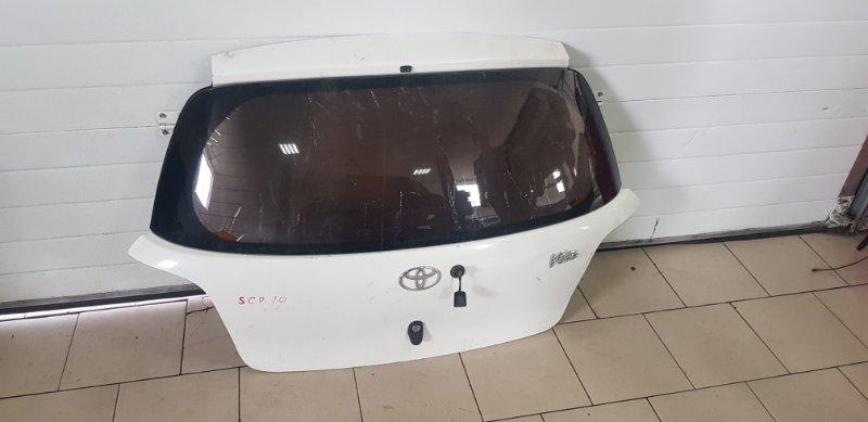 Дверь багажника Toyota Vitz SCP10 1SZFE 2000 задняя