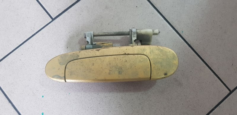 Ручка двери внешняя Toyota Vitz SCP10 1SZFE 2000 задняя левая