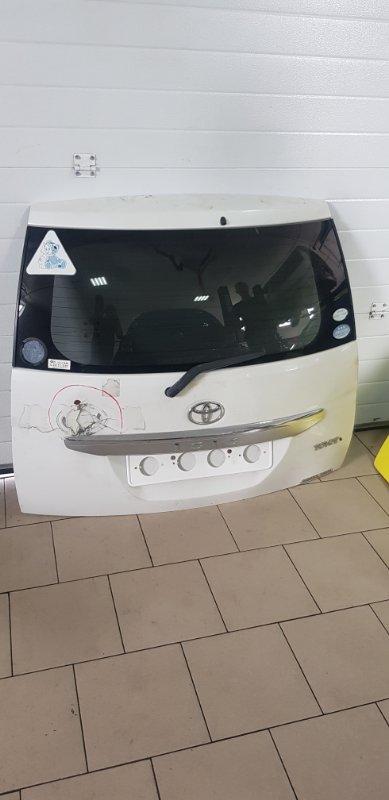Дверь багажника Toyota Isis ZNM10 1ZZFE 2004 задняя