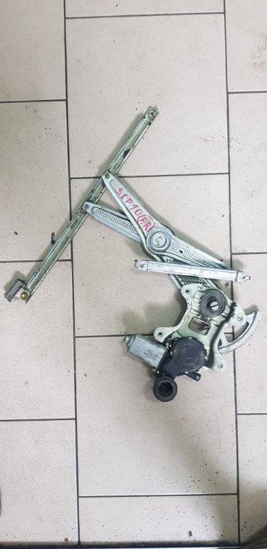 Стеклоподъемник Toyota Vitz SCP10 1SZFE 2000 передний правый