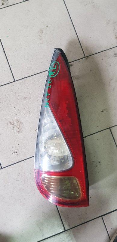 Стоп-сигнал Toyota Funcargo NCP21 1NZFE 2000 задний левый