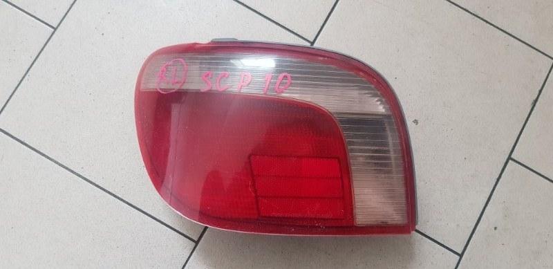 Стоп-сигнал Toyota Vitz SCP10 1SZFE 2000 задний левый