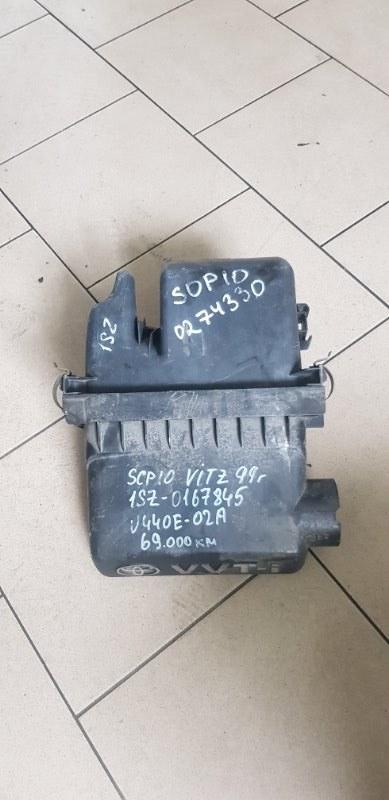 Корпус воздушного фильтра Toyota Platz SCP11 1SZFE 2000 передний