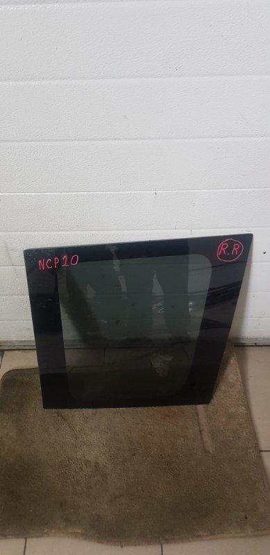Стекло багажника Toyota Funcargo NCP21 1NZFE 2000 заднее правое