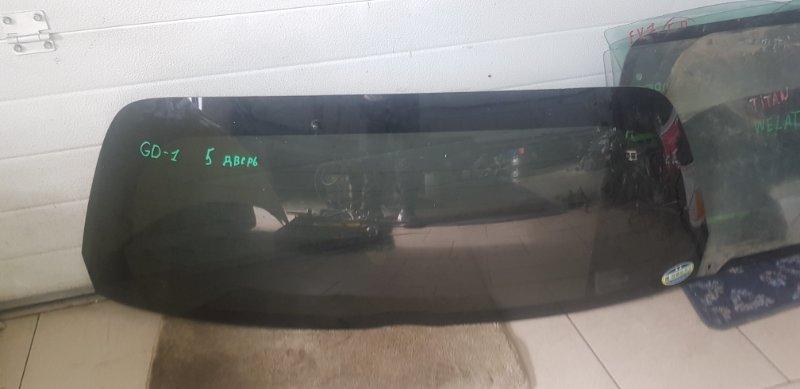 Стекло двери задней Honda Fit GD1 L13A 2001 заднее