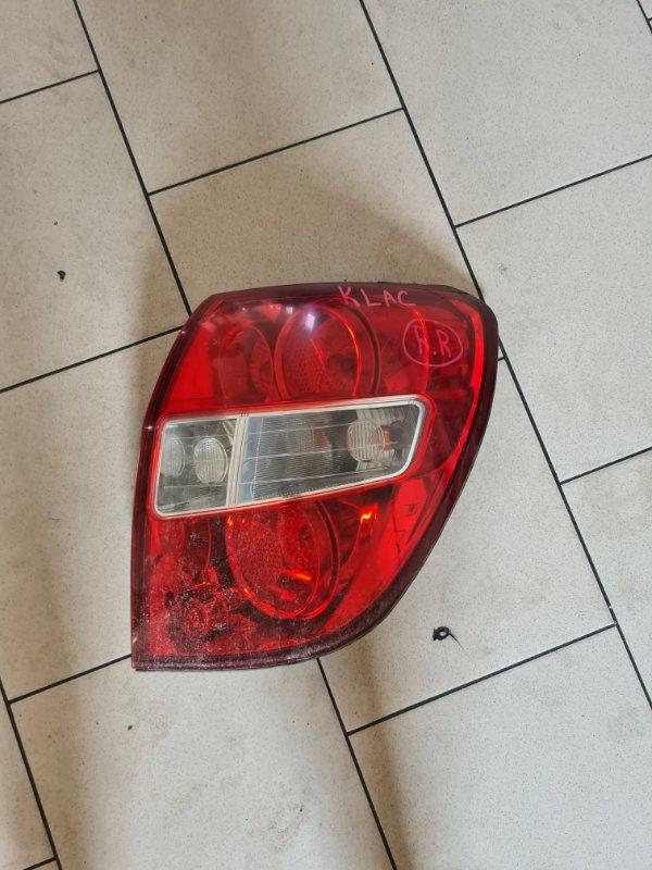 Стоп-сигнал Daewoo Winstorm KLACA26RD7B012026 Z20S1 2007 задний правый