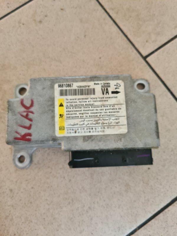 Блок управления аирбаг Daewoo Winstorm KLACA26RD7B012026 Z20S1 2007 передний