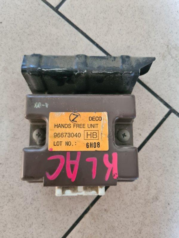 Блок управления Daewoo Winstorm KLACA26RD7B012026 Z20S1 2007 передний