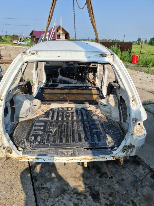 Тазик железный Honda Partner EY7 D15B 1999 задний