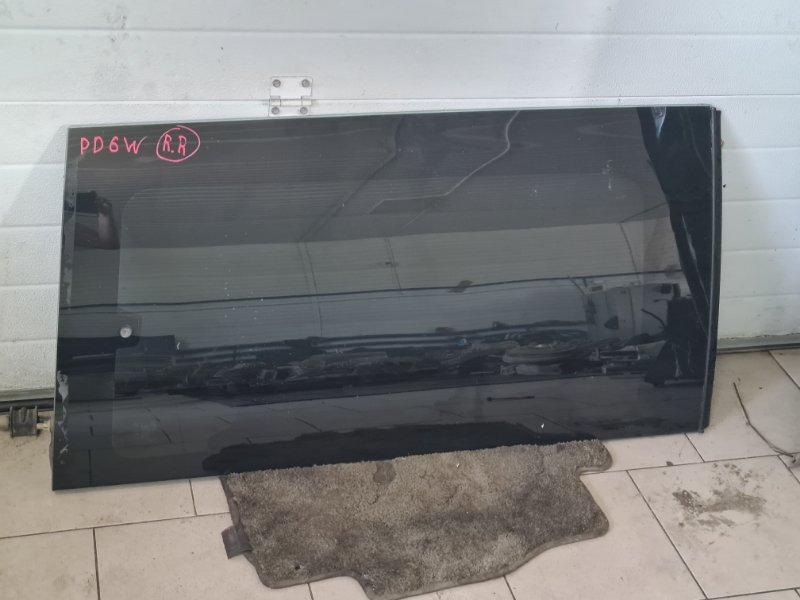 Стекло Mitsubishi Delica PD6W 6G72 2002 заднее правое