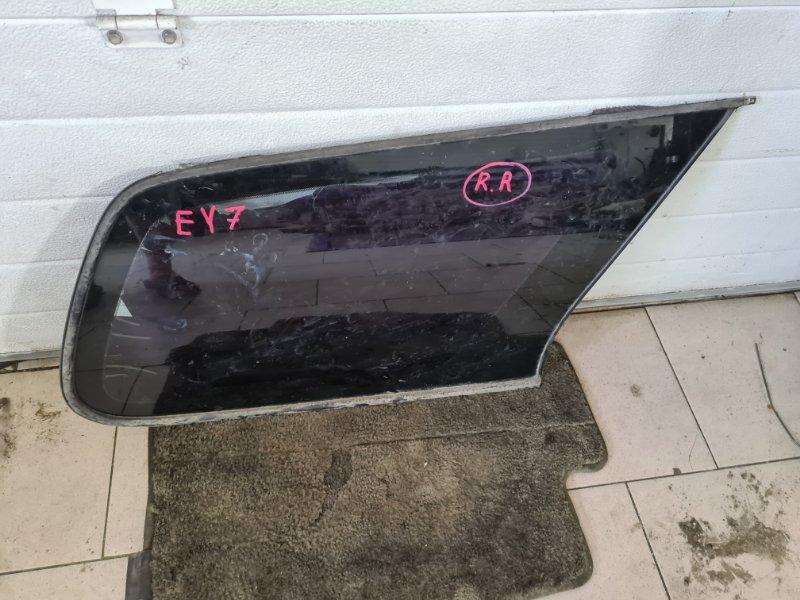 Стекло багажника Honda Partner EY7 D15B 1999 заднее правое