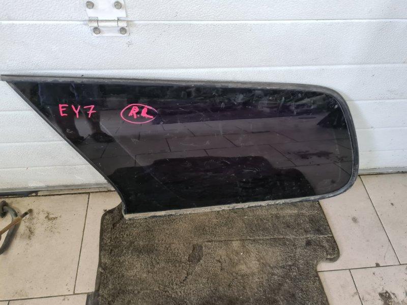 Стекло багажника Honda Partner EY7 D15B 1999 заднее левое