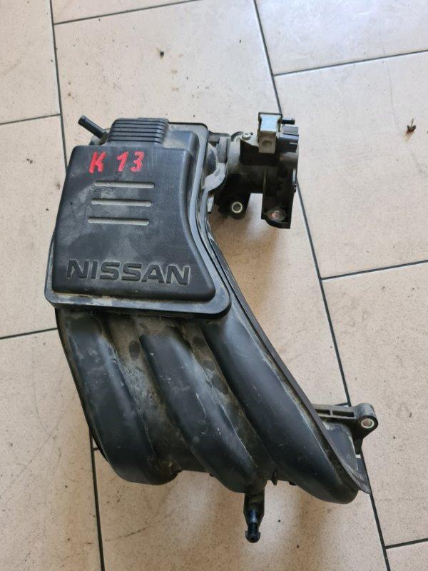 Коллектор впускной Nissan K13 HR12DE 2005 передний