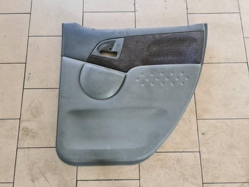 Обшивка двери Toyota Funcargo NCP21 1NZFE 2000 задняя правая