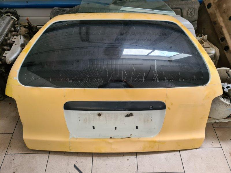 Дверь багажника Toyota Corolla EE102 4EFE 1992 задняя