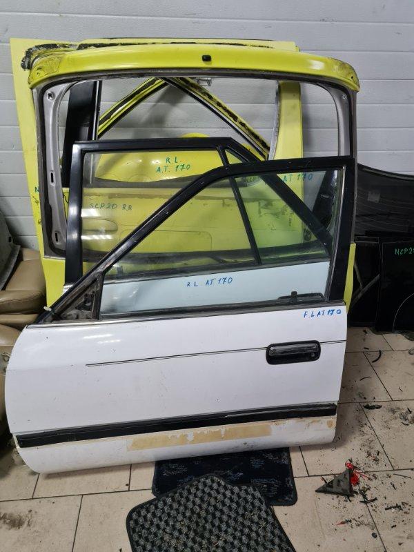Дверь Toyota Corona AT170 5AFE 1990 передняя левая