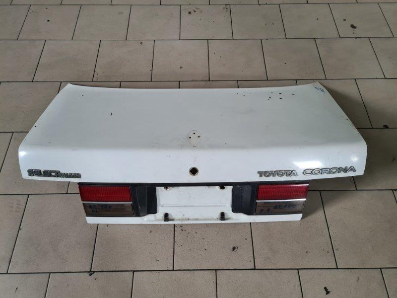 Крышка багажника Toyota Corona AT170 5AFE 1990 задняя
