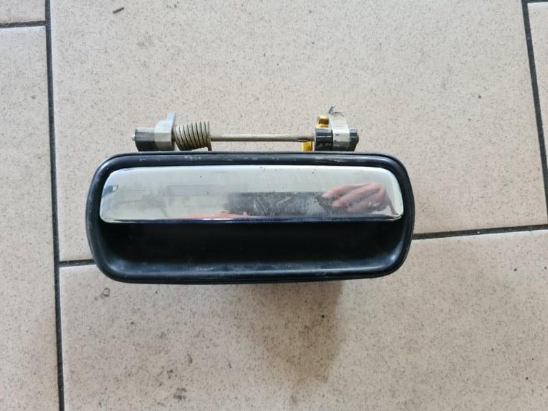Ручка двери внешняя Toyota Corona AT170 5AFE 1990 задняя левая