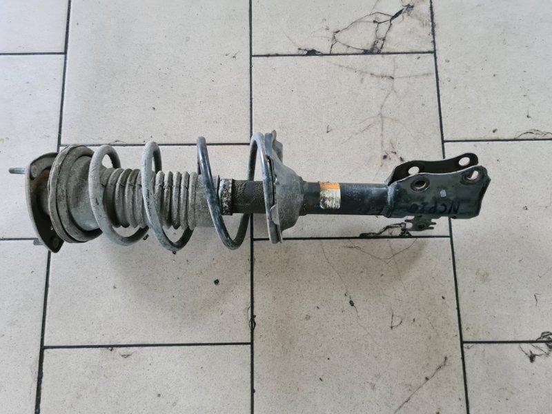 Стойка подвески Toyota Funcargo NCP21 1NZFE 2000 передняя левая