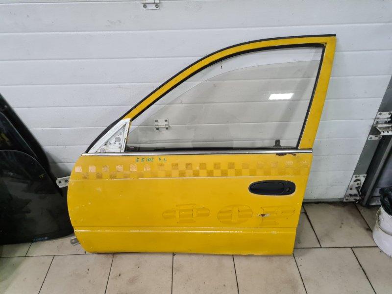Дверь Toyota Corolla EE102 4EFE 1992 передняя левая
