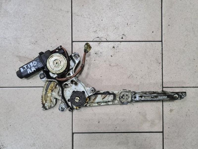 Стеклоподъемник Toyota Corona AT170 5AFE 1990 задний правый
