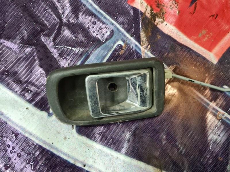 Ручка двери внутренняя Toyota Duet M100A EGDE 1998 задняя правая