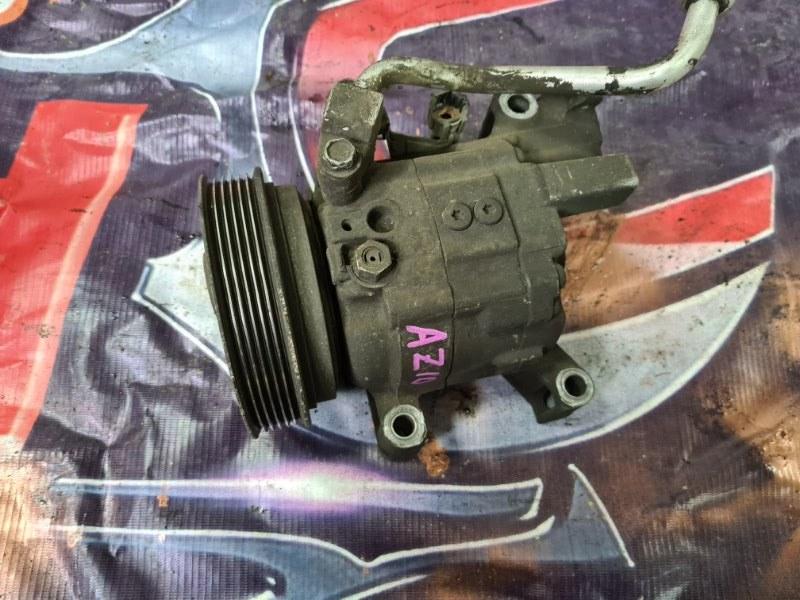 Компрессор кондиционера Nissan Cube AZ10 CGA3 2001 передний