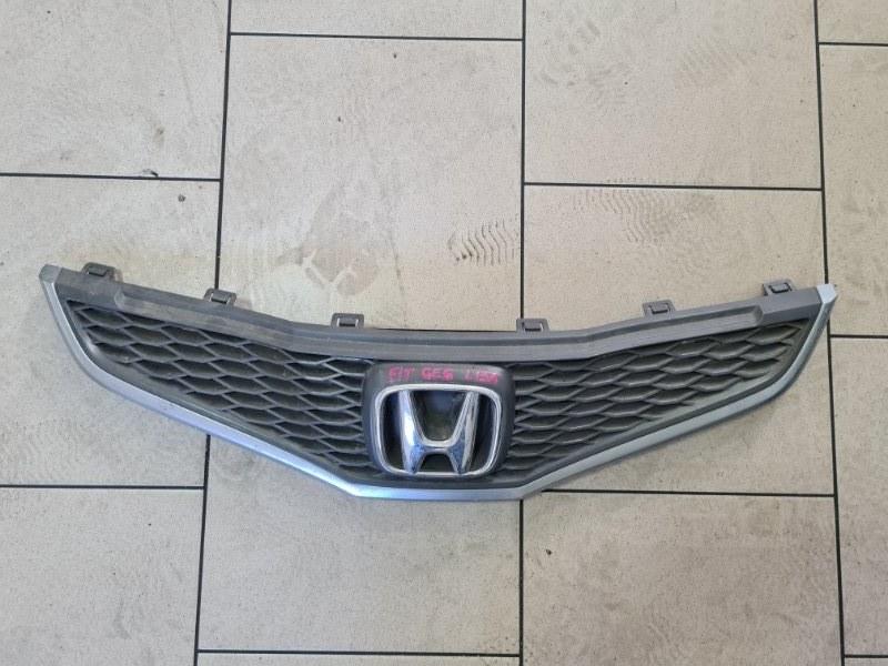 Решетка радиатора Honda Fit GE6 L13A 2008 передняя