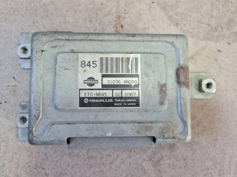 Блок управления акпп Nissan Cube AZ10 CGA3 2001 передний