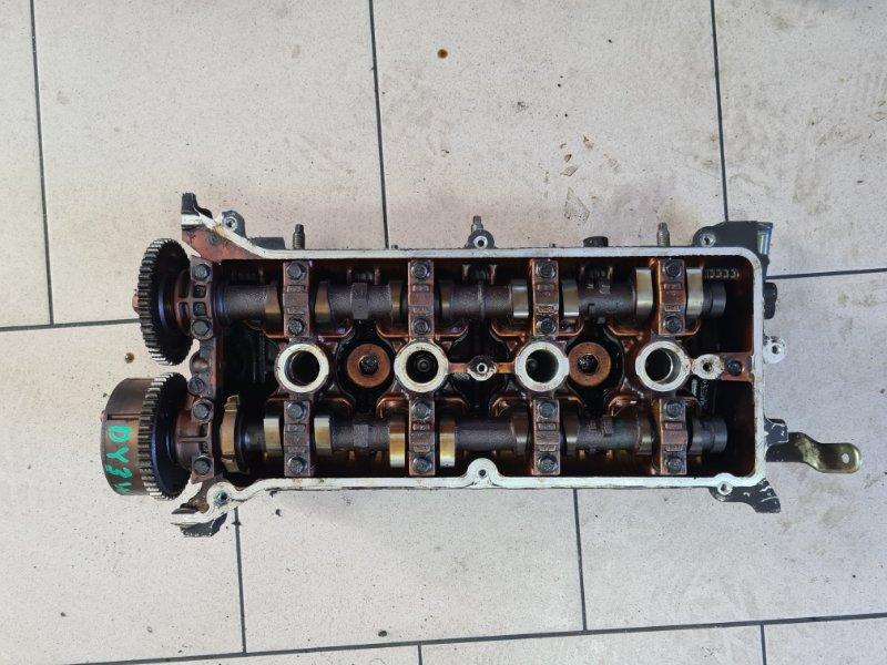 Головка блока цилиндров Mazda Demio DY3W ZJ 2002 передняя верхняя