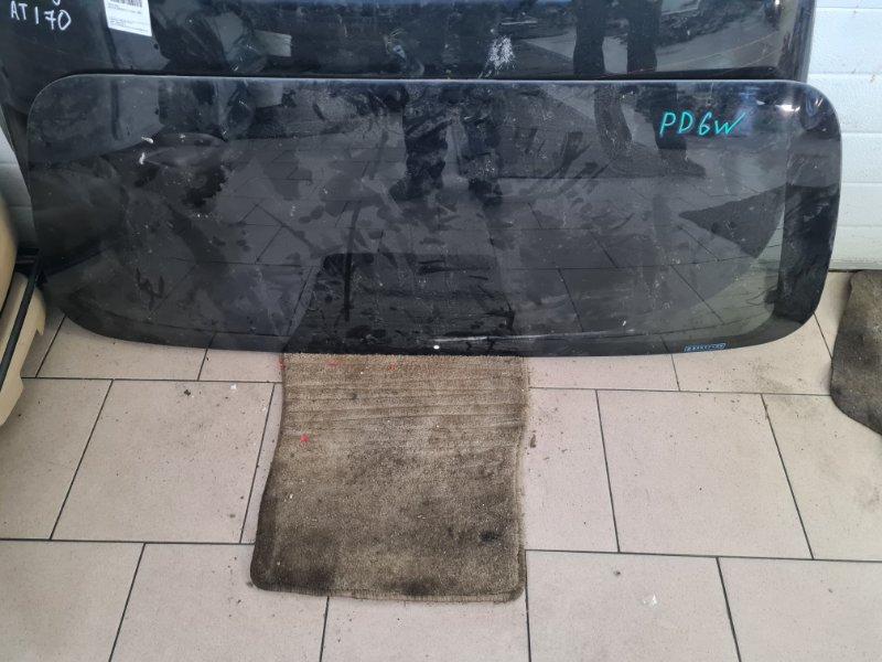 Стекло двери задней Mitsubishi Delica PD6W 6G72 2002 заднее