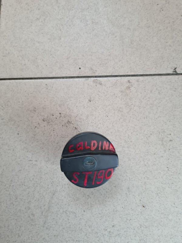 Пробка бензобака Toyota Caldina ST190 4SFE 1998 задняя