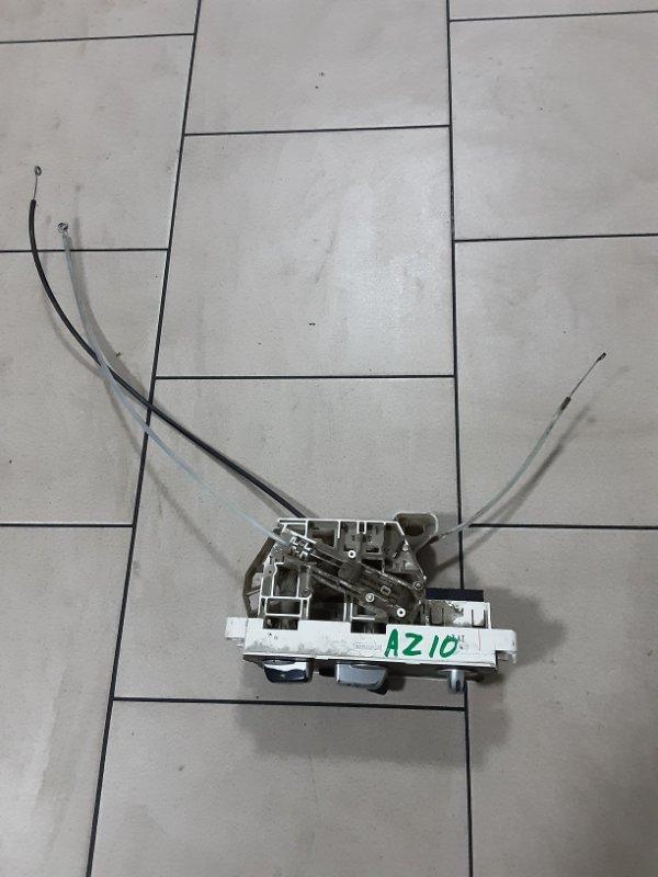 Блок управления климат-контролем Nissan Cube AZ10 CGA3 2001 передний