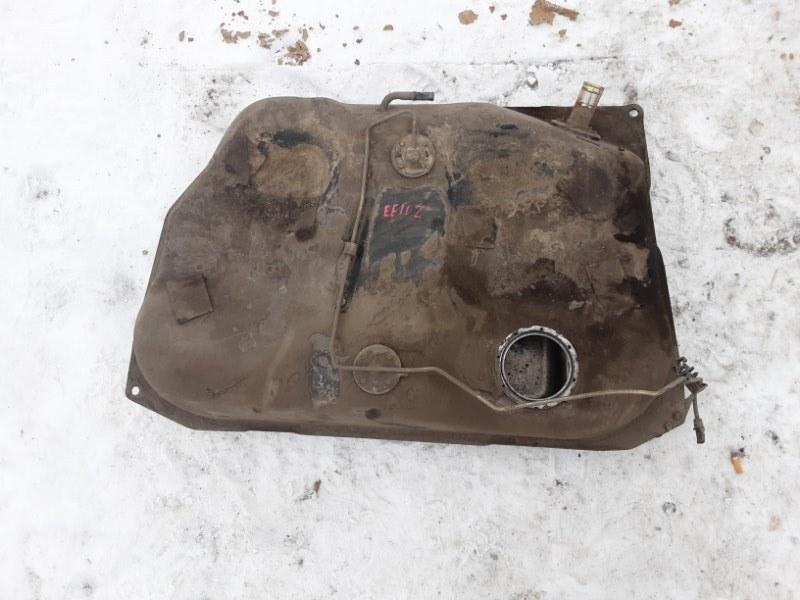 Топливный бак Toyota Corolla EE102 4EFE 1992 задний нижний