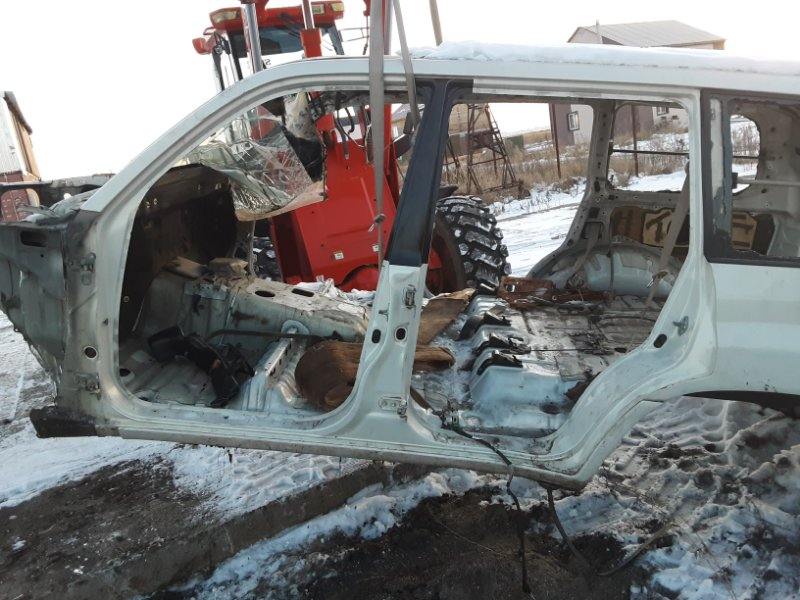 Крыло Toyota Land Cruiser 100 UZJ100 2UZFE 1998 заднее левое