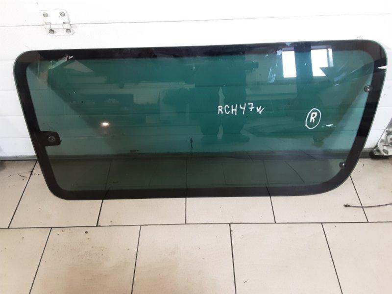 Стекло Toyota Hiace Regius RCH47W 3RZFE 1997 правое