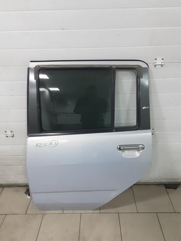 Дверь Nissan Cube AZ10 CGA3 2001 задняя левая