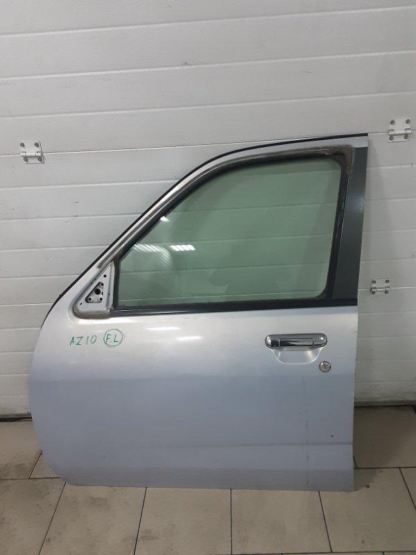 Дверь Nissan Cube AZ10 CGA3 2001 передняя левая
