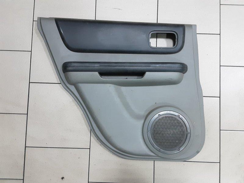 Обшивка двери Nissan X-Trail NT30 QR20 2000 задняя левая
