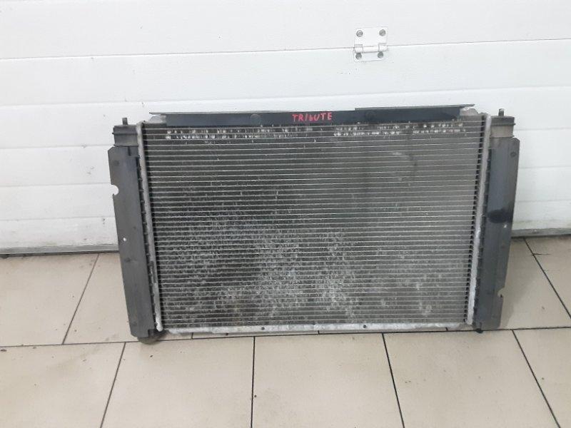 Радиатор охлаждения двигателя Mazda Tribute EPEW AJ 2002 передний