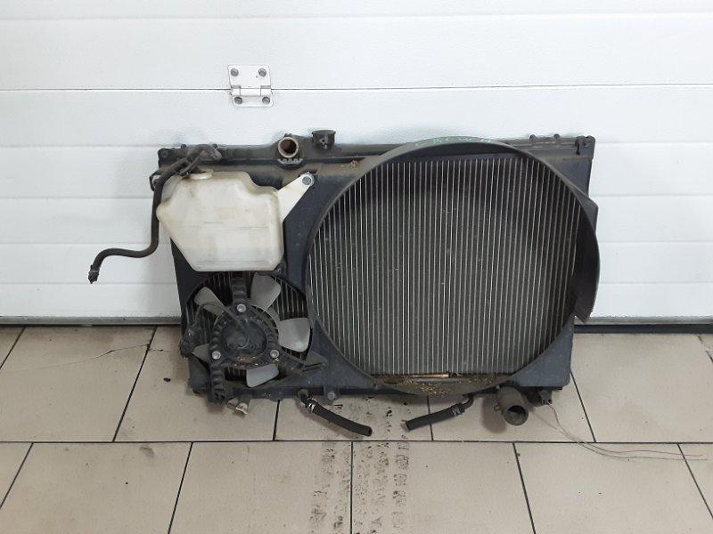 Радиатор охлаждения двигателя Toyota Crown JZS151 1JZFE 1997 передний