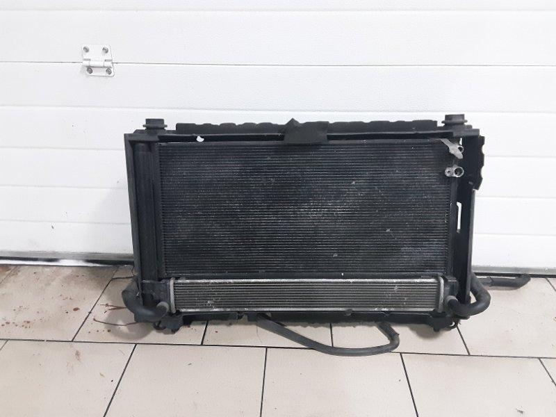 Радиатор охлаждения двигателя Toyota Prius ZVW30 2ZRFXE 2010 передний