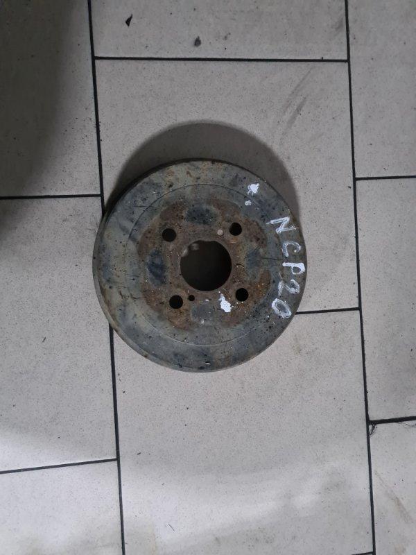Тормозной барабан Toyota Funcargo NCP21 1NZFE 2000 задний правый