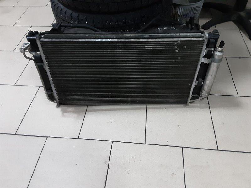 Радиатор охлаждения двигателя Nissan Leaf ZEO EM61 2011 передний