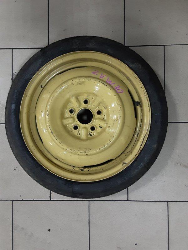 Запасное колесо Toyota Prius ZVW30 2ZRFXE 2010 заднее