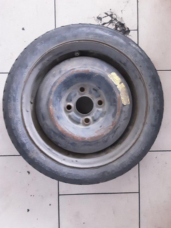 Запасное колесо Toyota Funcargo NCP21 1NZFE 2000 заднее