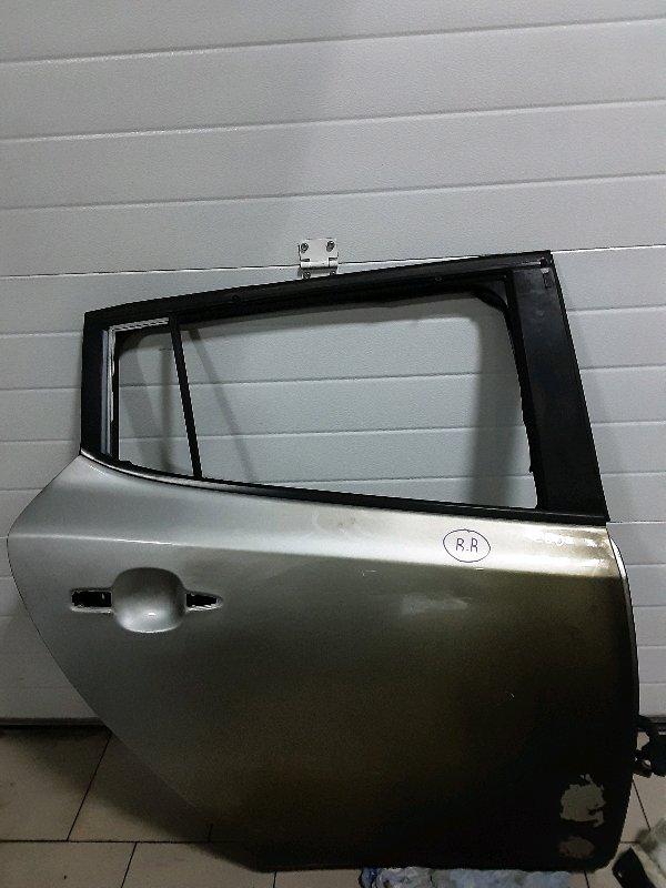 Дверь Nissan Leaf ZEO EM61 2011 задняя правая