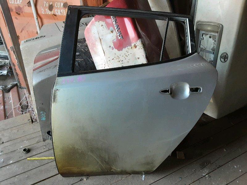 Дверь Nissan Leaf ZEO EM61 2011 задняя левая