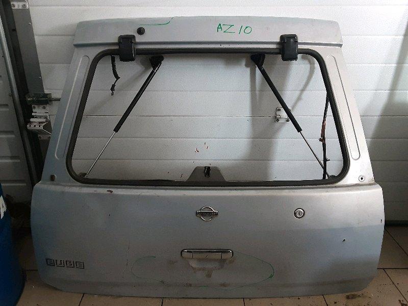 Дверь багажника Nissan Cube AZ10 CGA3 2001 задняя